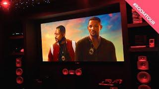Home Theater Tour 2020!! DOLBY ATMOS 5.2.2 Marantz Home Cinema! Yamaha System & Star Ceiling!