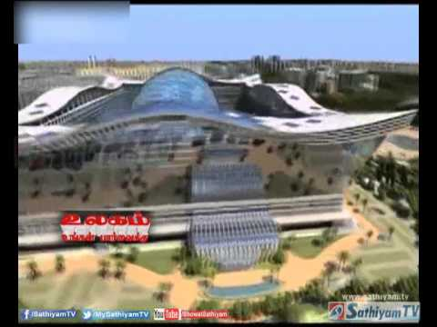 World's largest building opens in west China - Sathiyam tv News