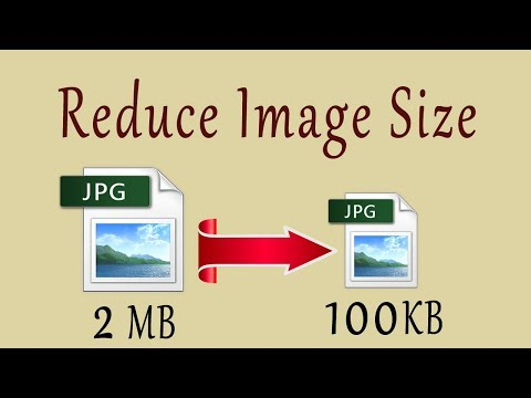 How to reduce image file size with paint