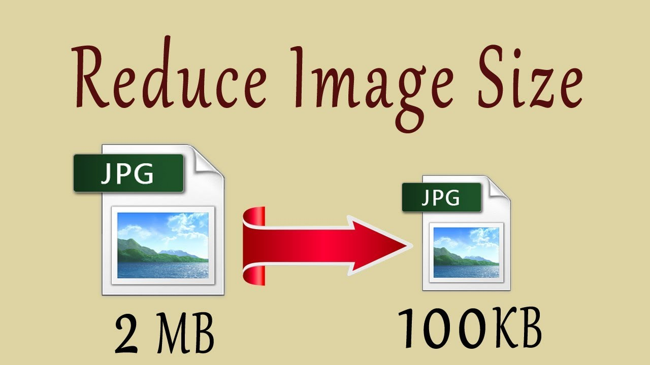 compress photo in jpeg format