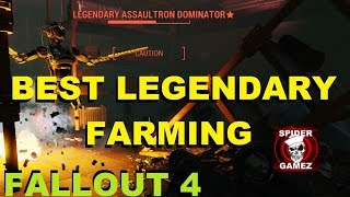 Fallout 4 - Best Legendary Weapon Armor Farming 7 BEST Loot Lock Locations Best Farming Guide