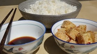 How To Make A Fried Tofu With Lemon Grass And Chilies // Authentic Recipe From Vietnamese Restaurant