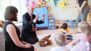 Английский язык в детском саду: Джон Гордон - английский язык в младшей группе детского сада