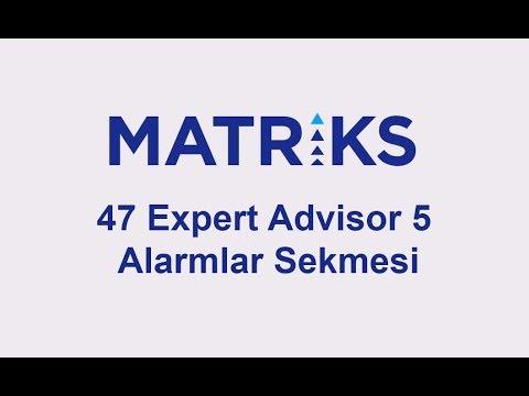 Matriks Indikatör Pozisyonları Ekranı