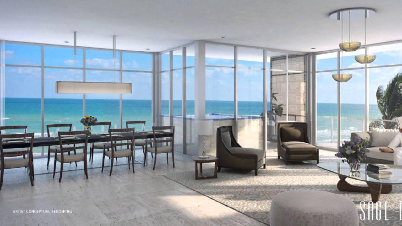 Sage beach departamentos de lujo en venta en hallandale for Apartamentos modernos playa
