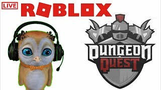 🔴 Dungeon Quest UPDATE - ROBLOX LIVE [Wave Defence ]