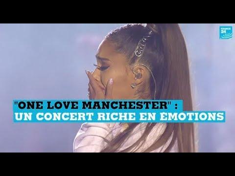 """""""One Love Manchester"""" : les moments forts du concert en hommage aux victimes"""