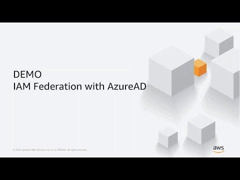 Demo: AWS IAM Federation with Azure AD