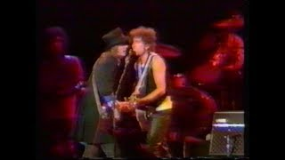 Bob Dylan, Tom Petty , Knockin' On Heavens Door Japan 1986