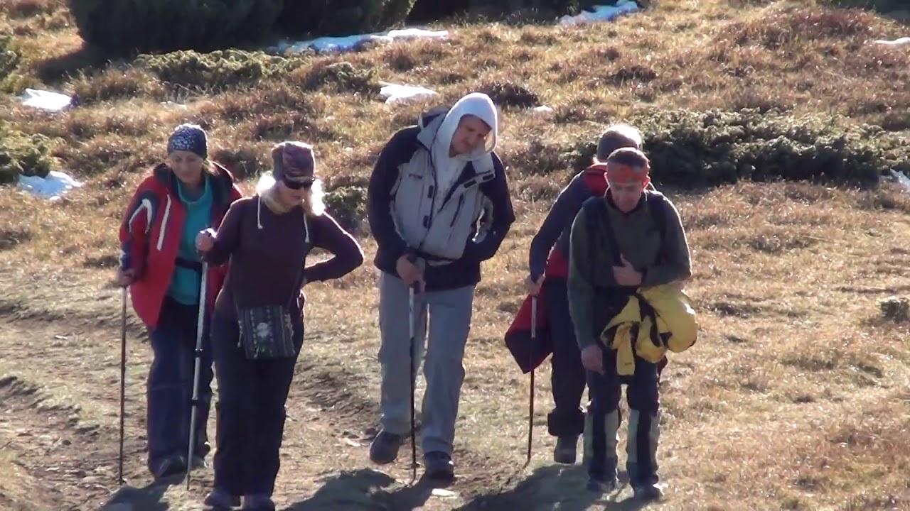 Карпаты, гора Петрос, Говерла . Пеший поход в октябре(жовтні) 2015 года.