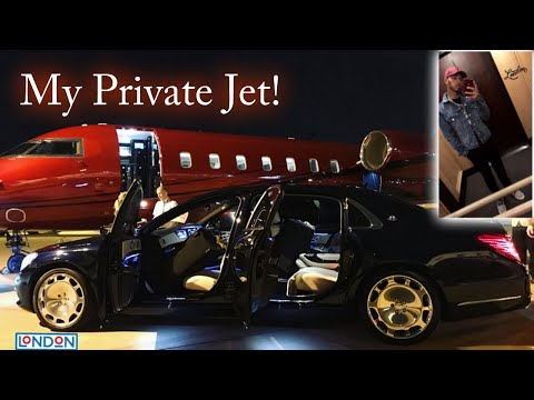 Views From My Private Jet! | Lewis Hamilton Vlogs
