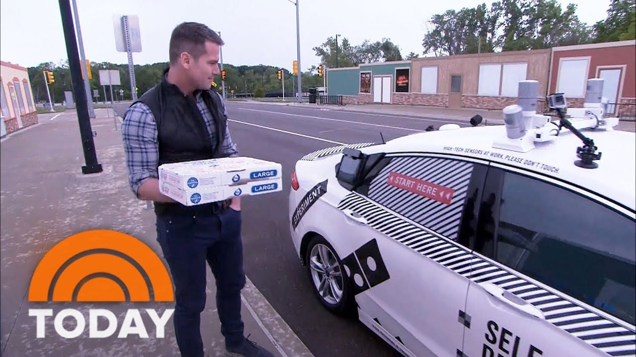 Domino's Pizza Hopes To Roll Out Self-Driving Delivery | TODAY