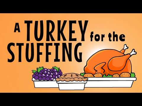 Thanksgiving Story - A Turkey for the Stuffing - Attitude of Gratitude