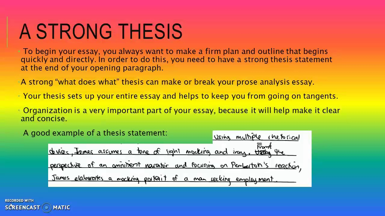 ap lit prose essay Teaching the literary analysis essay by matthew brown for an ap lit course writing an essay should be about profound thinking not writing to a.