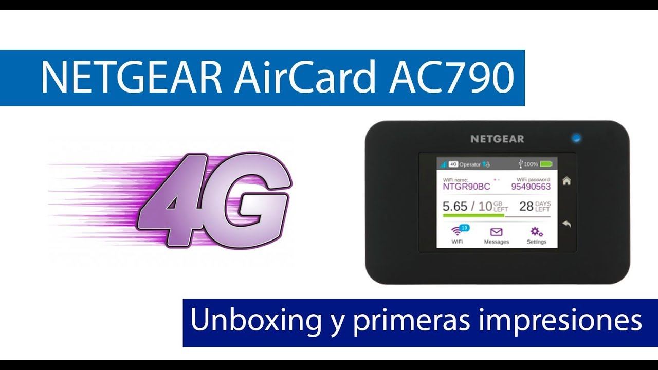 NETGEAR AirCard AC790: Conoce este MiFi 4G con doble banda Wi-Fi AC1200