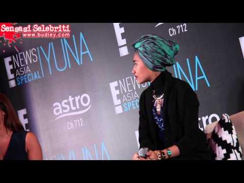 Yuna E! News Asia Special Press Conference