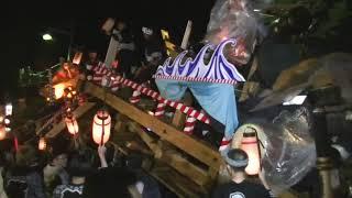 20190909角館祭りのやま行事 川原町VS横町
