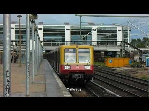Berlini S-Bahn pillanatok