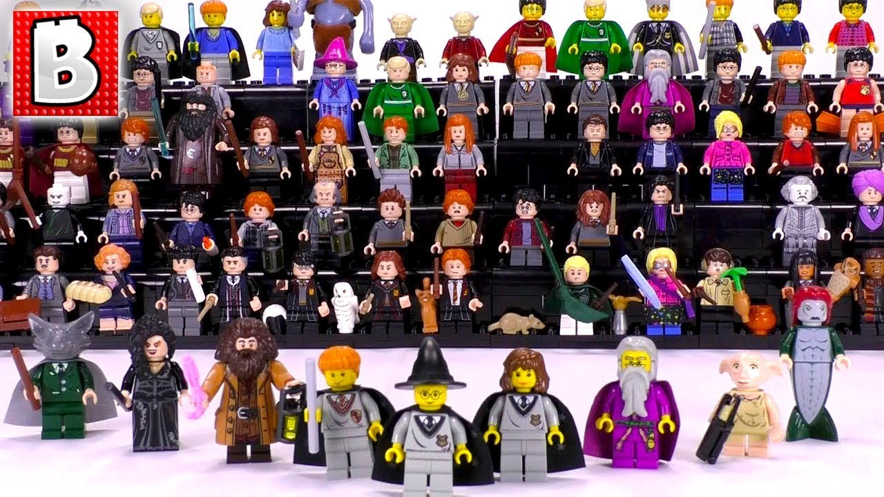Every Lego Wizarding World Minifigure Ever Made Collection Review Youtube