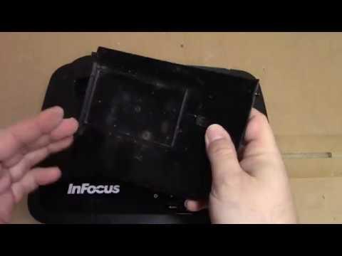 InFocus IN2128HDx DLP Projector Repair / Cleaning