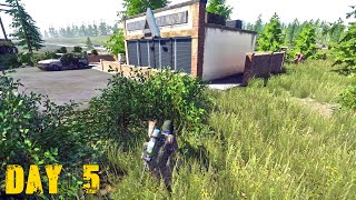 Miscreated Gameplay 2019 : Day 5 ( 1 Death and Tips )
