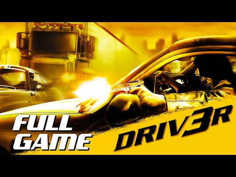 Driv3r - Full Playthrough (PC - 1080p 60fps)