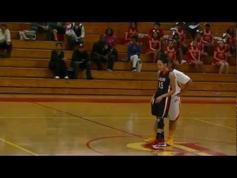 Tiashana Morris Vs Bayside High School Part 1
