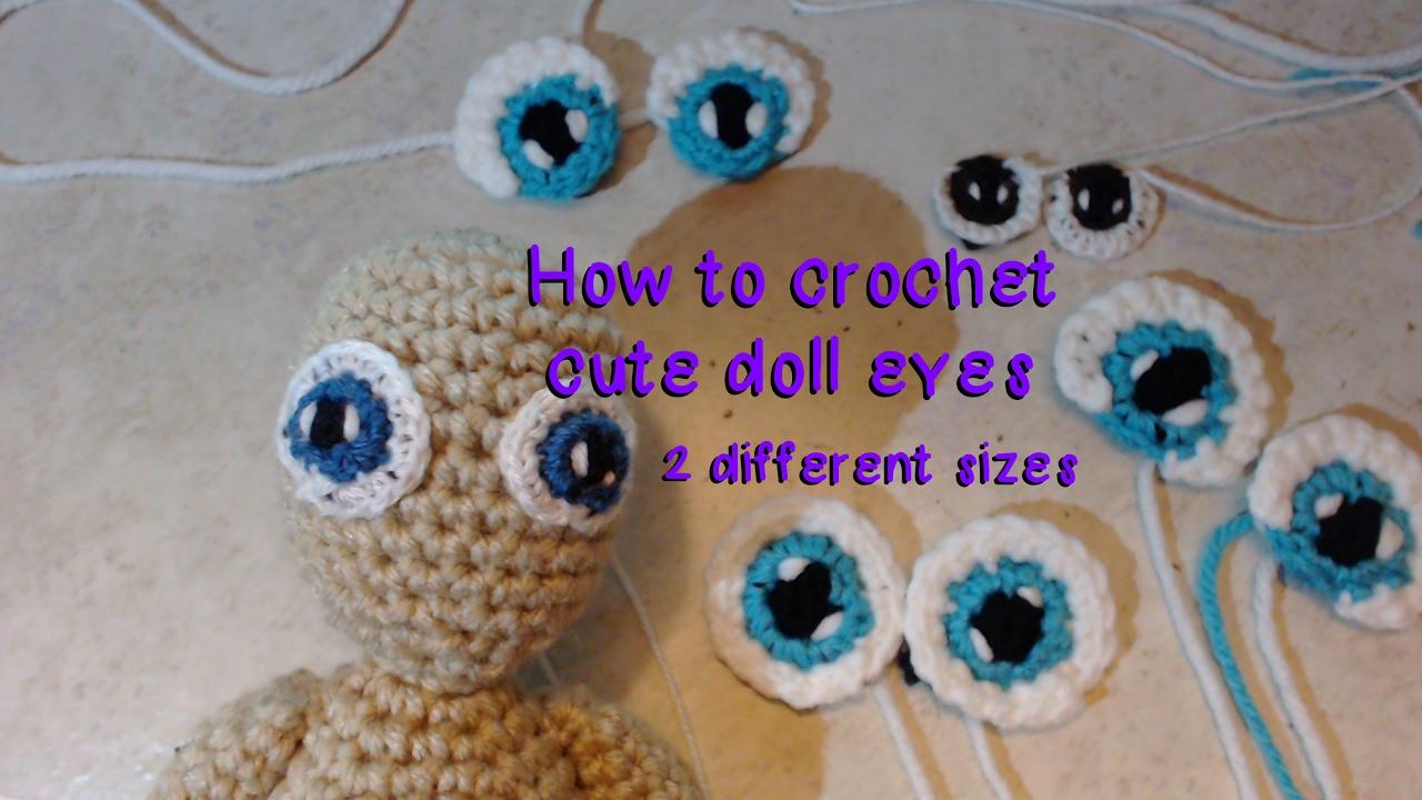 Amigurumi Eyes Embroidery - YouTube | 720x1280