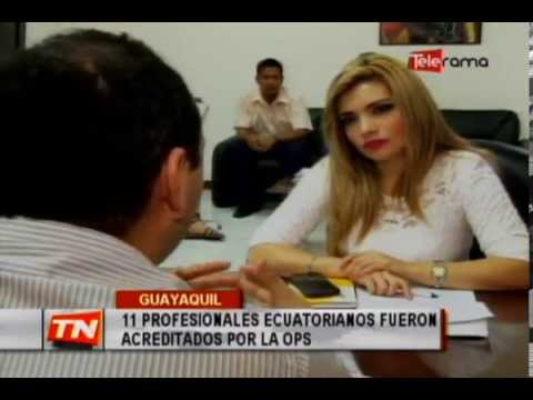 11 profesionales ecuatorianos fueron acreditados por la OPS