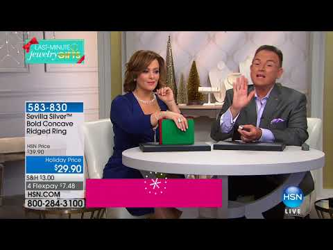 HSN | Sevilla Silver Jewelry 12.18.2017 - 10 AM