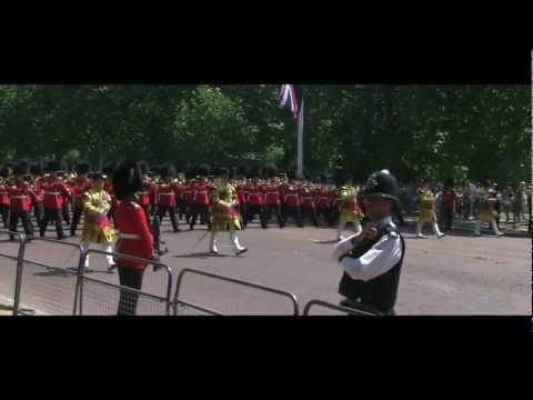 Trooping the Colour 2011 - Massed Bands in The Mall
