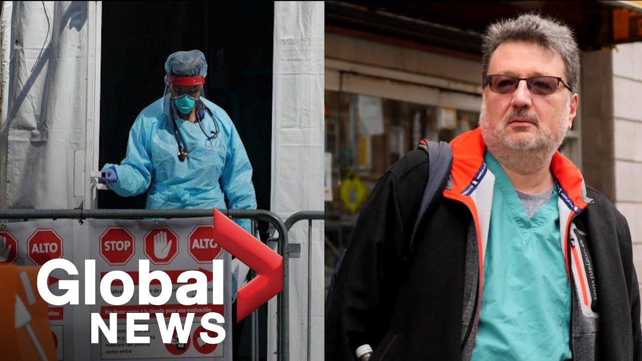 Coronavirus outbreak: New York doctor says 9/11 was