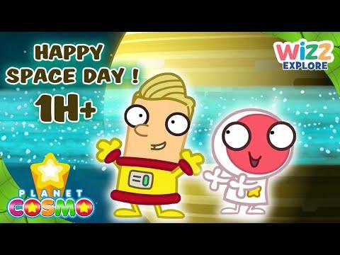 @PlanetCosmoTV | Happy #SpaceDay ! | Full Episodes | Wizz Explore