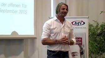 BFI Wien Tag der offenen Tür - Vortrag Leo Hillinger