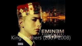All Eminem albums- UPDATED