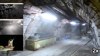Autonomous Quadrotor Flight in a Coal Mine