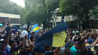 Los hinchas de Boca festejaron su día y se hicieron sentir en el Centro de Mendoza