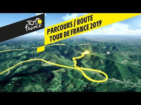 Route in 3D - Tour de France 2019