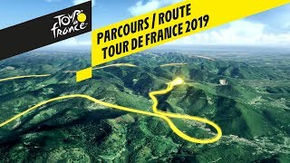 Route in 3D - Tour de France 2019