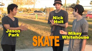 Jason Park vs Nick Holt vs Mikey Whitehouse - SKATE saturdays