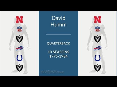 David Humm: Football Quarterback