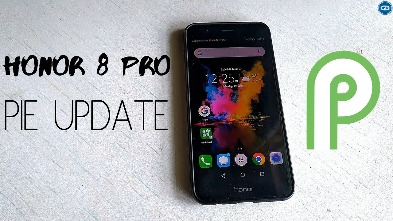 HONOR 8 PRO ANDROID PIE UPDATE 9 0