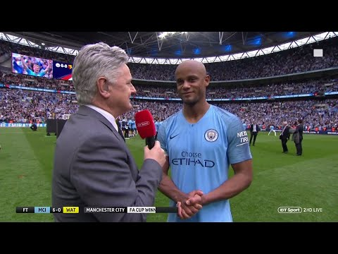 """""""From tomorrow we'll talk about it."""" Vincent Kompany discusses Man City future"""