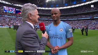 """From tomorrow we'll talk about it."" Vincent Kompany discusses Man City future"