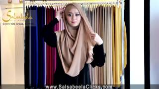 Shawl Tutorial by Salsabeela Muslimah Attire - Stafaband