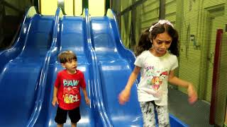 Birthday party indoor playground kids fun - Zack is 3 ! Family vlog video part 2