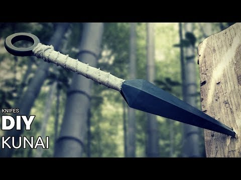 Knife Making - Kunai