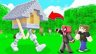 FAKİR YÜRÜYEN EV BULDU! 😱 - Minecraft