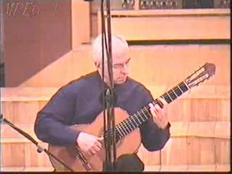 Rare Classical Guitar Video: John Williams - Sunburst - York