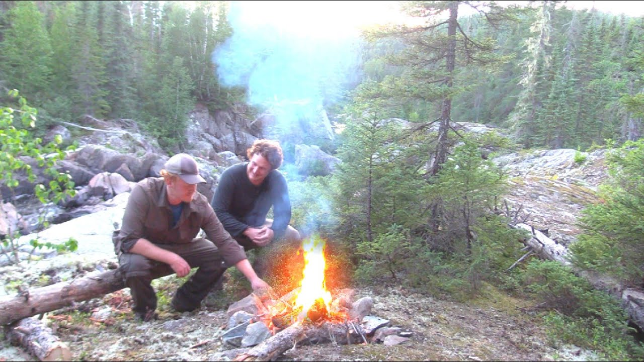 Two Brothers Alone in the Wilderness Ep 4 Return to River - Backpack In - Backcountry Camping